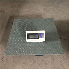 XK3190-A12+(E)1*1m碳钢加厚电子地磅