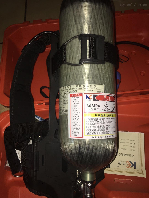 國產6.8L有限空間作業正壓空氣呼吸器
