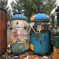 化工厂二手5吨搪瓷反应釜