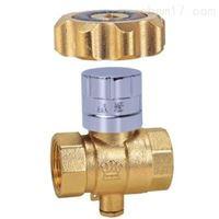 黄铜磁性锁闭球阀
