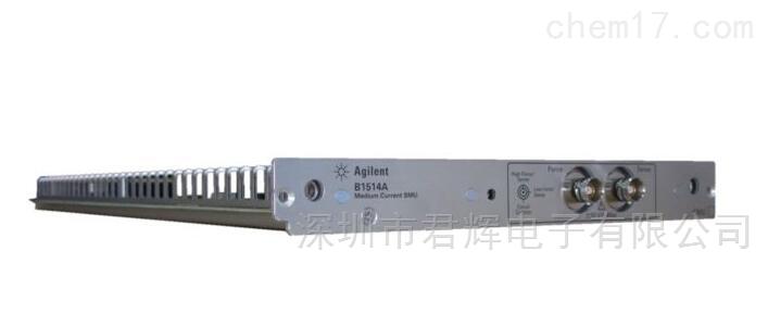 是德B1514A脉冲中等电流电源/测量单元