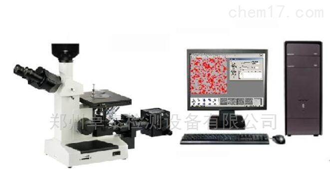 4XC郑州三目倒置金相显微镜4XC