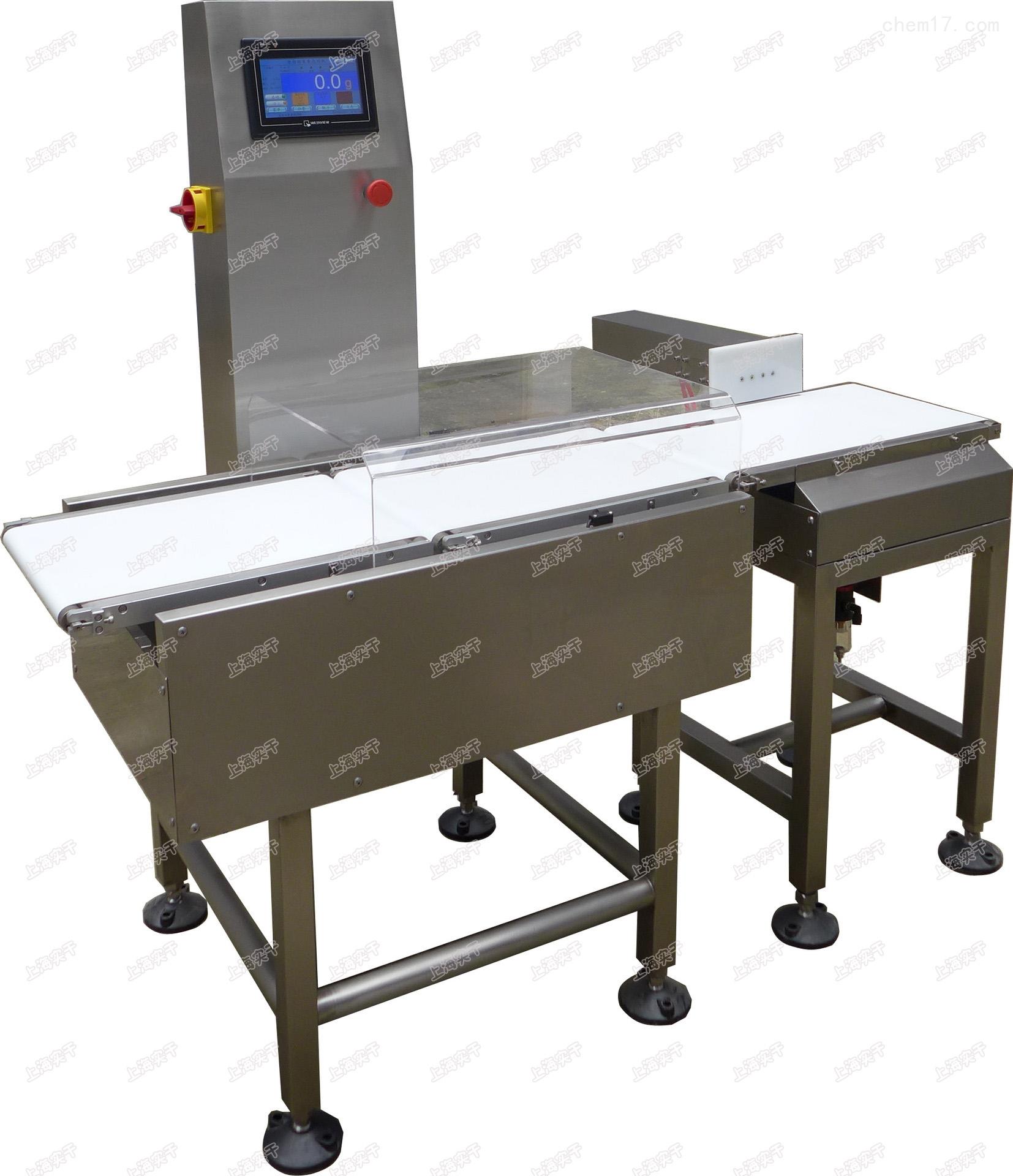 流水线称量检重秤,生产车间称重检测设备