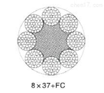 8×37(b)类圆股钢丝绳