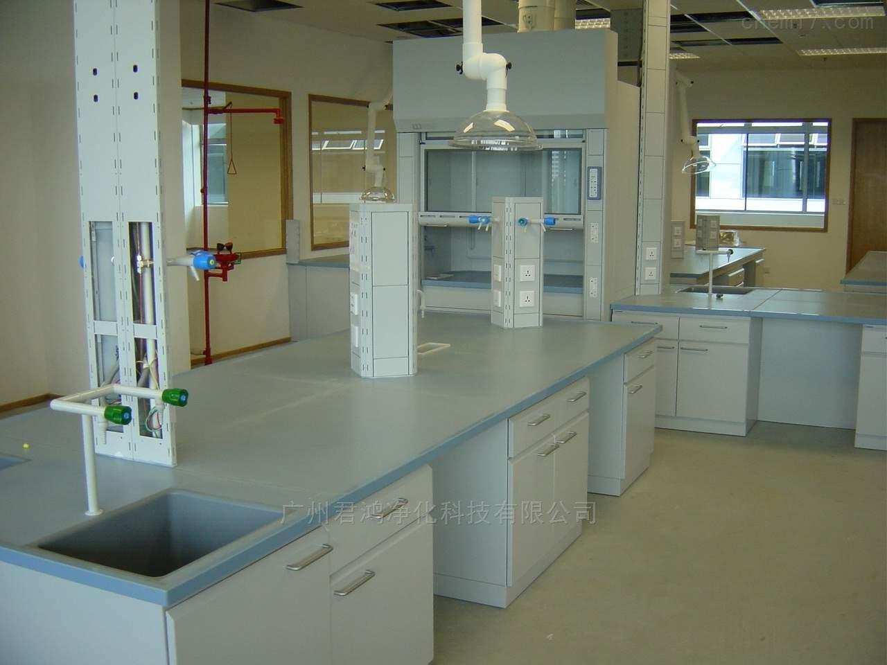 福建福州全钢框架结构实验台整体实验室家具