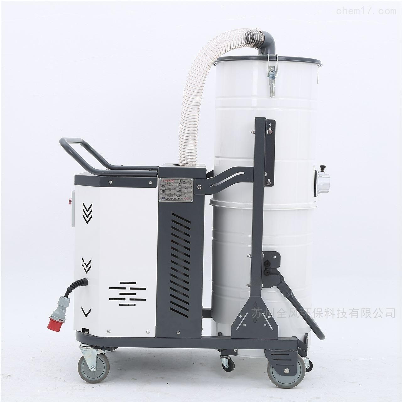 五金厂房吸尘除尘用手推式脉冲吸尘器