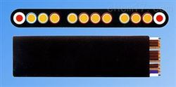 YFFB-KL弹性体绝缘及护套承拉控制扁平软电缆厂家