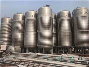 哪里有二手130吨卧式不锈钢储罐价格
