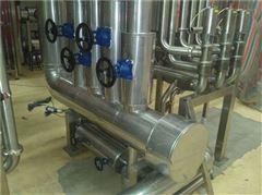 除尘设备做铁皮保温施工安装