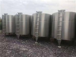 高价回收二手50立方衬氟不锈钢储罐价格