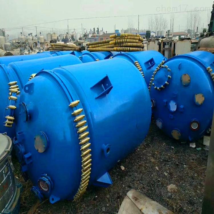 二手15吨搪瓷反应釜全型号回收