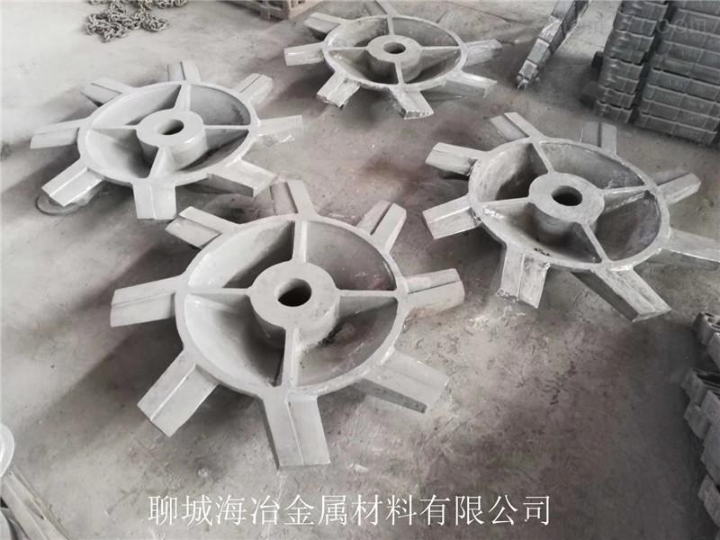 耐磨钢铸件机械加工成品交货