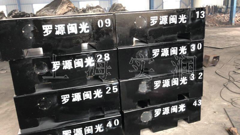船舶配重砝码1000公斤