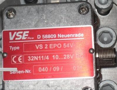 德国VSE齿轮流量计VS1GPO12V12N11特价