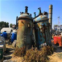 低价供应二手5立方搪瓷反应釜