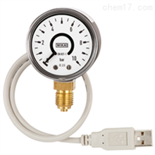 PGT10 USB德国威卡WIKA带电信号输出的波登管压力表