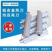 铝制水滴式工业吹干风刀专用高压风机