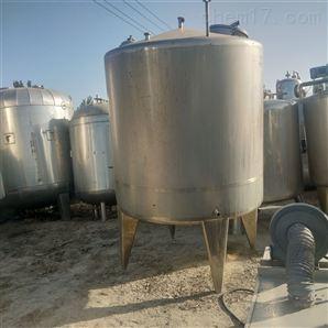回收二手不锈钢液体乳化搅拌罐