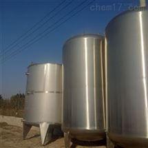 回收转让二手不锈钢保温储罐价格