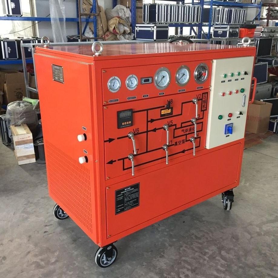 SF6气体回收充放装置高压试验承装修试