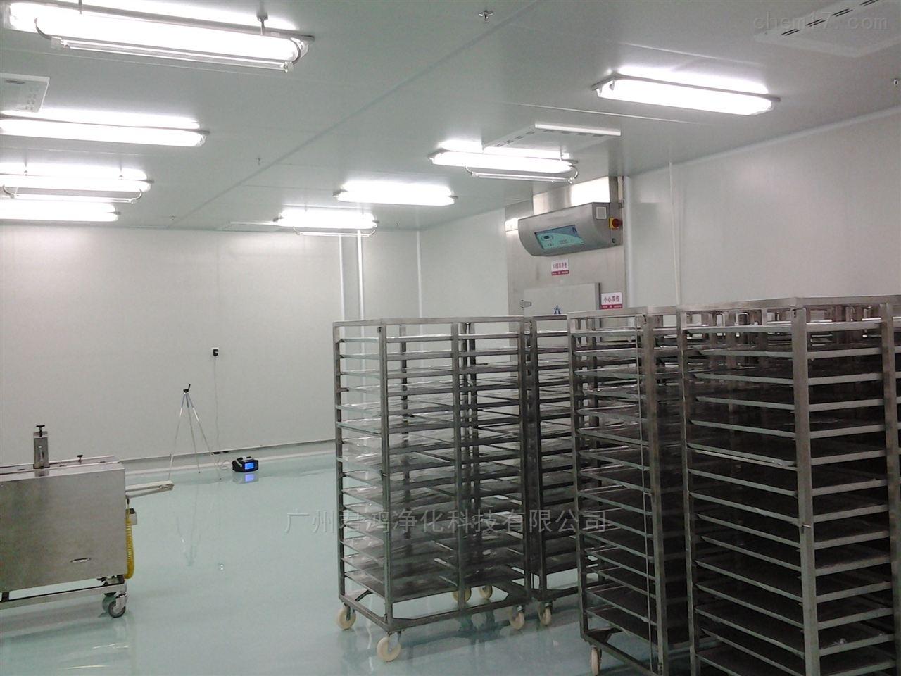 番禺石基洁净室净化工程高效过滤器更换安装