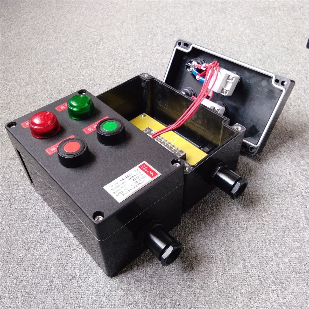 BZC8050-A1K1一急停一开关防爆操作控制箱