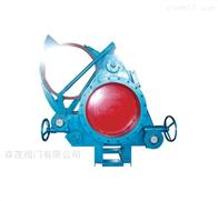 F343CX蜗轮扇形盲板阀
