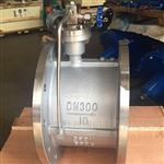 HH49X不锈钢微阻缓闭蝶式止回阀