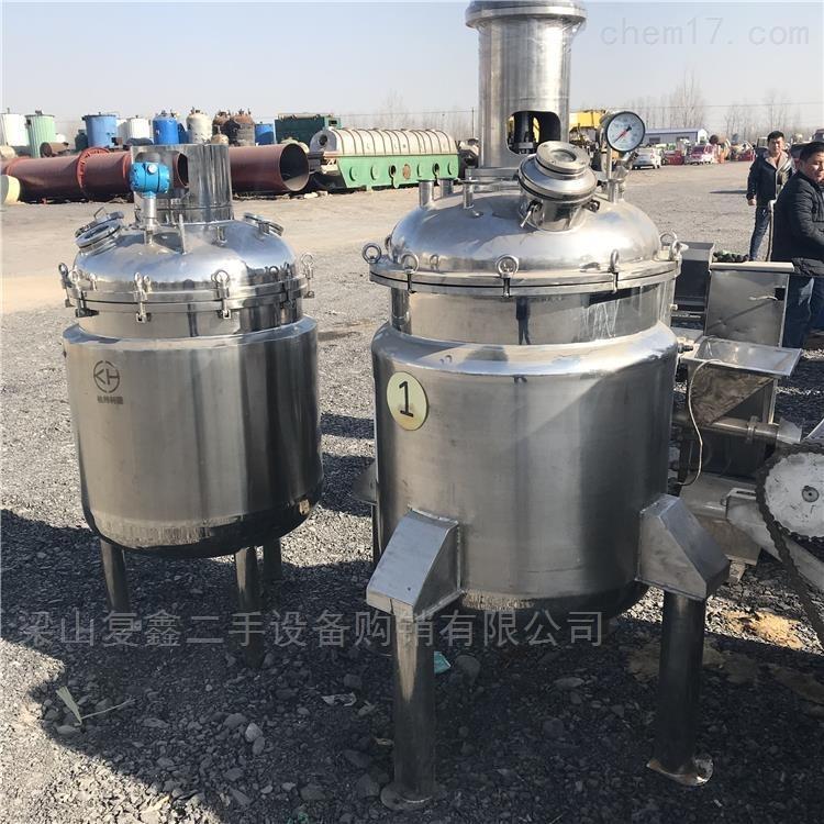 供应二手不锈钢电加热反应釜