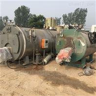 二手2.5吨燃油气蒸汽锅炉衡水销售
