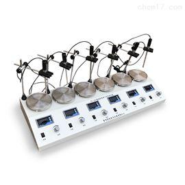 金坛良友 HJ-6A六联数显磁力加热搅拌器
