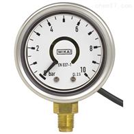 PGT21德国WIKA威卡带电信号输出的波登管压力表