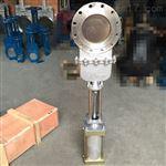 DMZ673W气动不锈钢暗杆插板阀