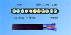 弹性体耐低温探测控制扁平软电缆厂家直销
