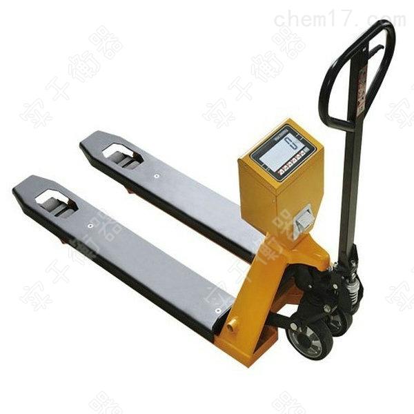 带打印电子叉车秤厂家直销多少钱