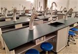 肇庆铝木实验中央台 带双水槽各种款式挑选