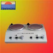 專業生產二聯調溫磁力加熱攪拌器