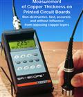 RMP30-S印刷電路板上銅厚度測量儀