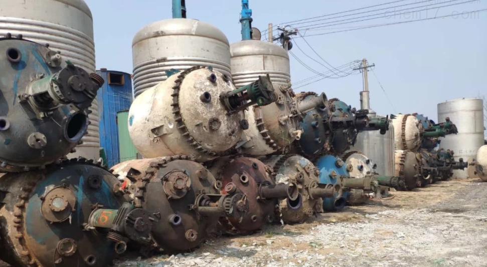 回收供应二手10吨不锈钢反应釜价格