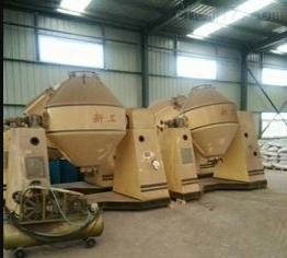 厂家回收二手不锈钢转鼓双锥干燥机