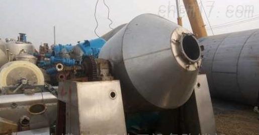 100-40000L回收二手耐腐蚀双锥干燥机