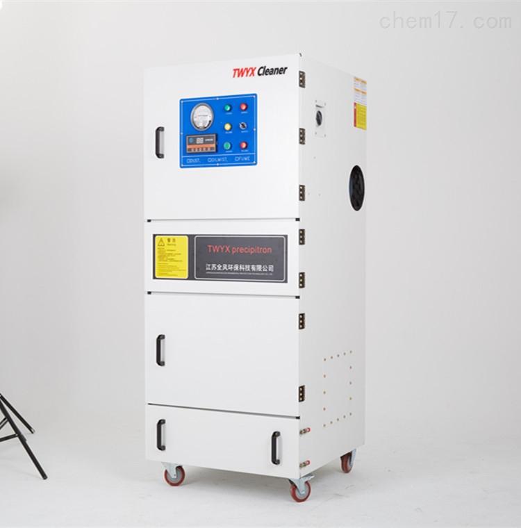 弹簧磨床柜式吸尘脉冲集尘机