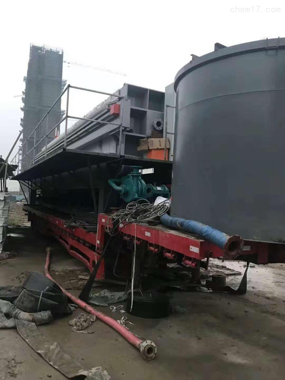 打桩泥浆处理设备 建筑钻孔泥浆脱水压滤机