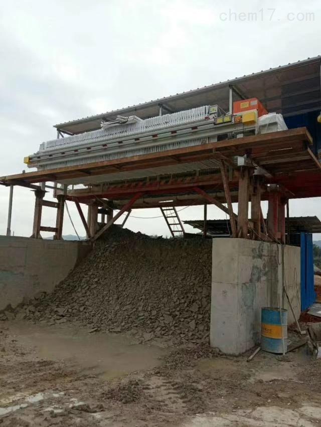 采石场洗沙污水处理压滤机