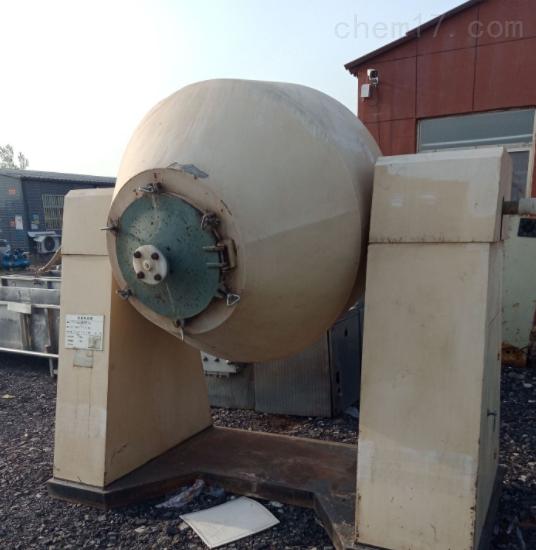 1000升回收二手不锈钢双锥干燥机价格