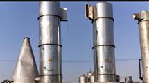回收二手高速旋转不锈钢1米闪蒸干燥机