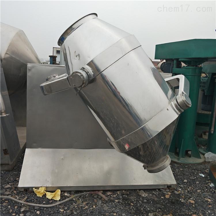 回收二手1000L不锈钢双锥真空干燥机