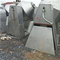 二手500L不锈钢双锥真空干燥机回收处理