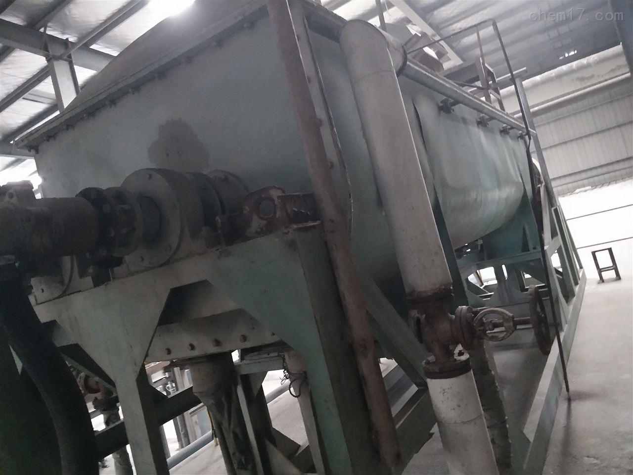 回收二手双柱不锈钢空心桨叶干燥机