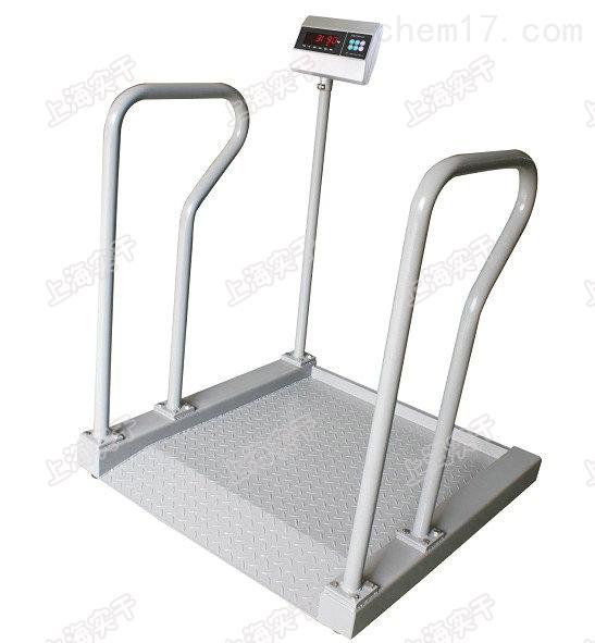 两侧带扶手轮椅秤,自动秤重轮椅电子秤